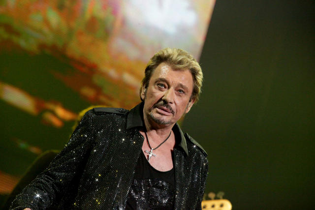 Concert de  Johnny Halliday a Forest National